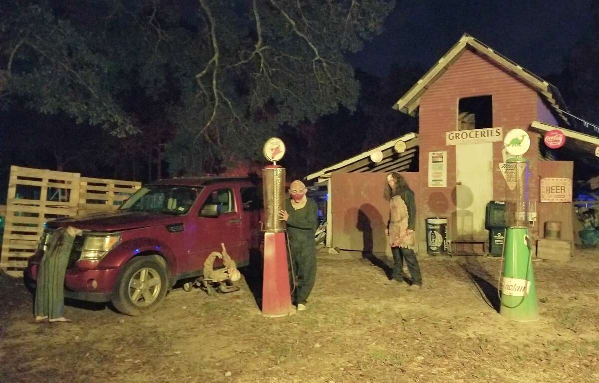 Haunted Drive is located at 24334 FM 2090 Rd. in Splendora.