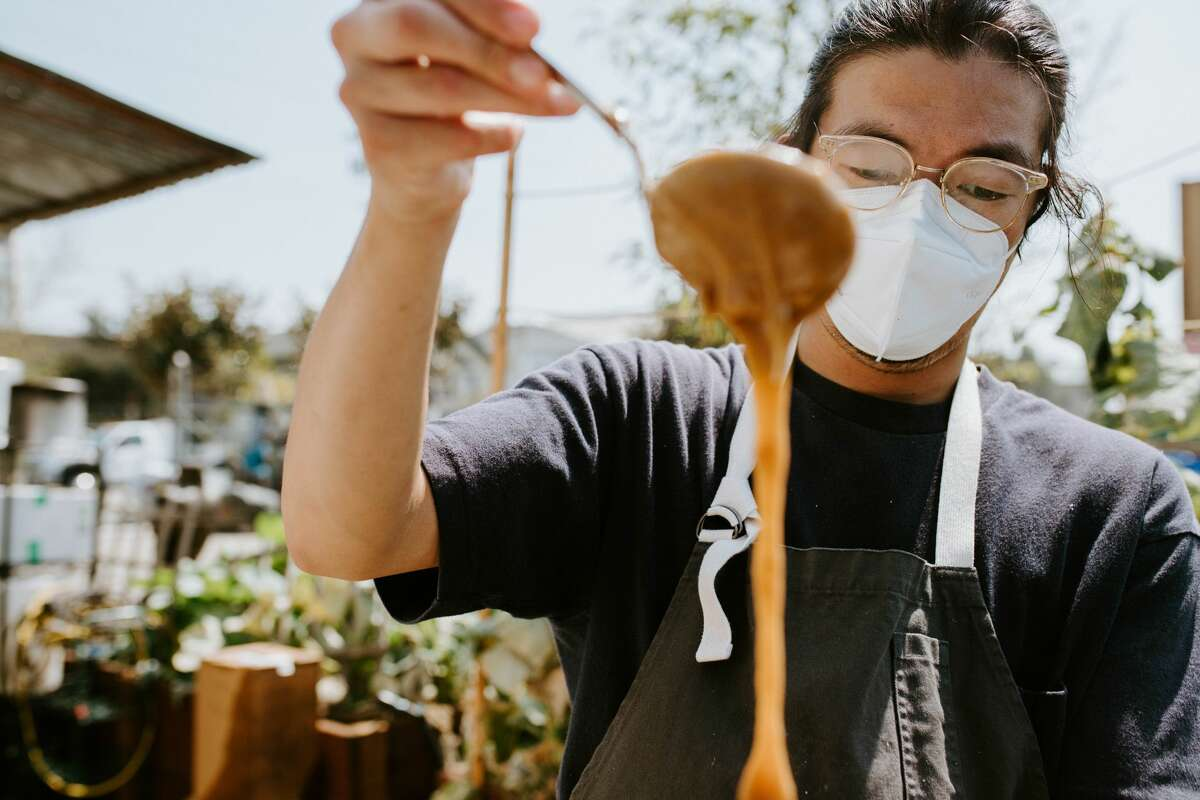 Timothy Chu, a chef who formerly worked at State Bird Provisions, is one of the owners of Magnolia Mini Mart.