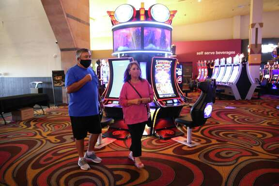 VIP guests got to enjoy the Kickapoo Lucky Eagle Casino for the first time in six months Wednesday because of the pandemic shutdown.