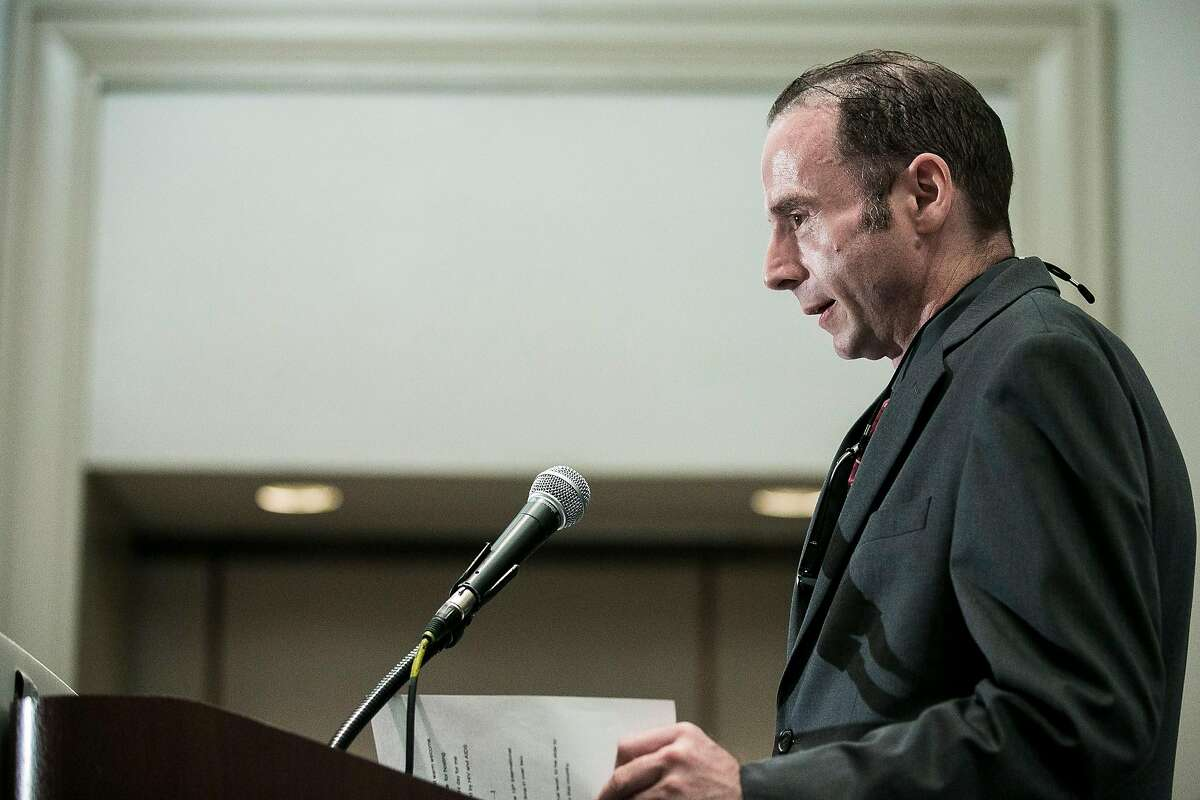 Timothy Ray Brown announces his eponymous foundation during the 2012 International AIDS Conference held in Washington.