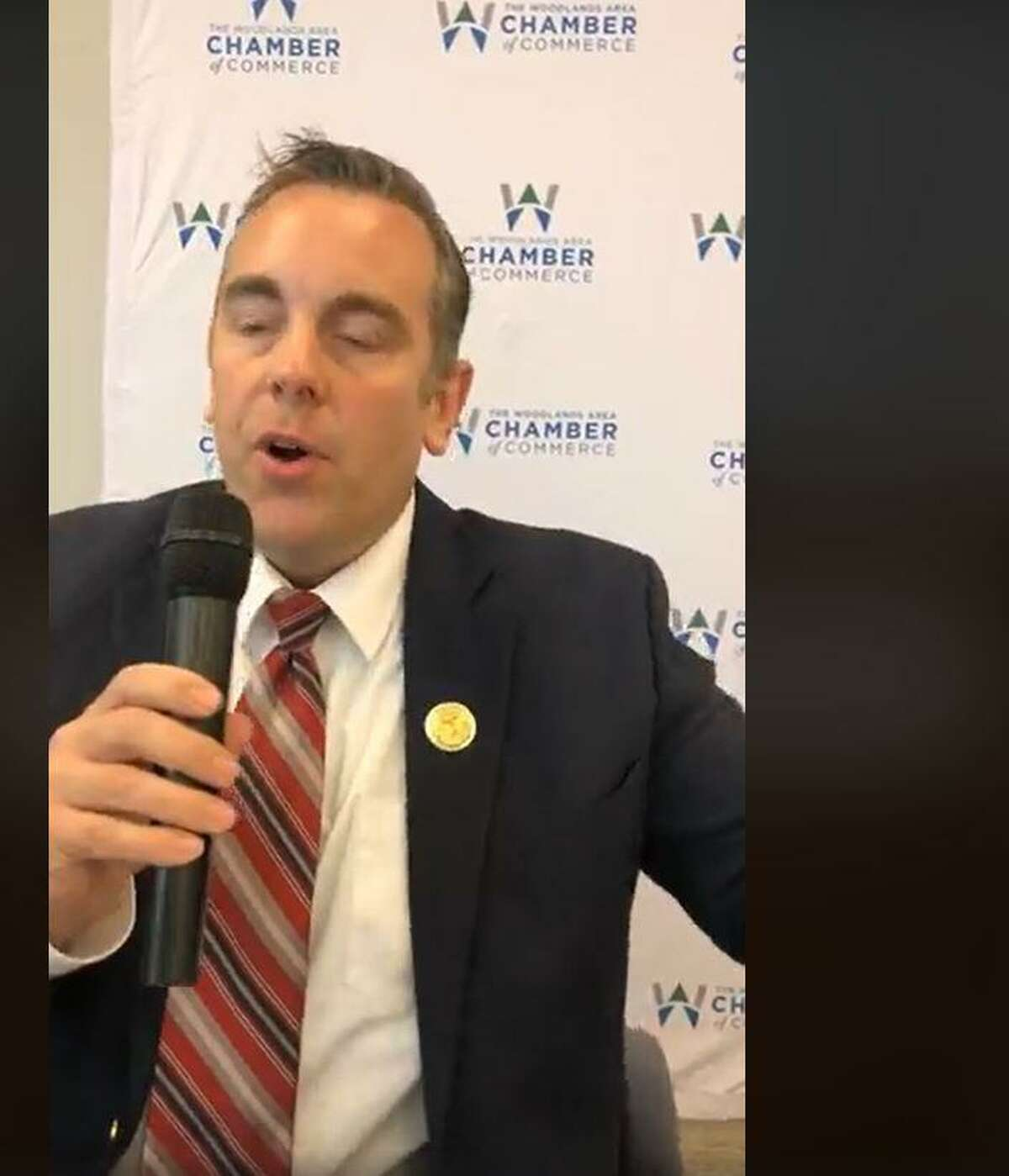 Candidates for the township Board of Directors participated in an online forum on Tuesday, Sept. 29, at The Woodlands Area Chamber of Commerce. Thomas Chumbley is seeking the Positioon 2 seat against three other challengers.