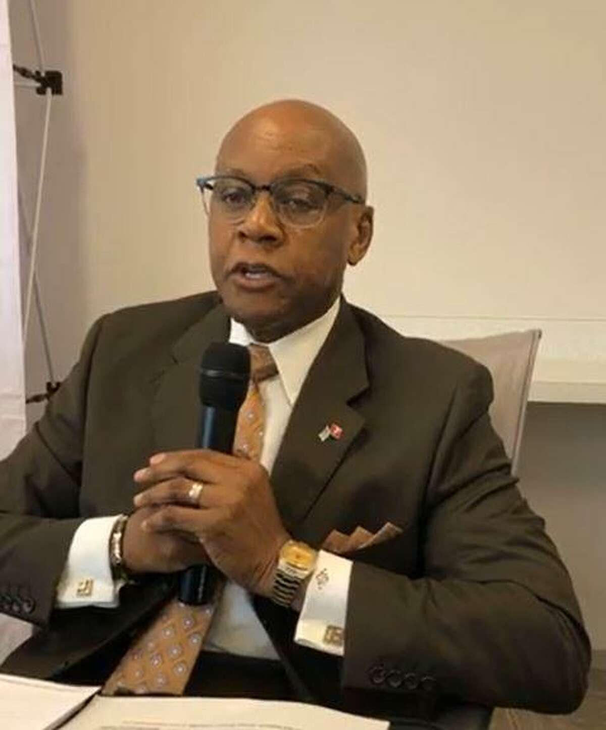 Candidates for the township Board of Directors participated in an online forum on Tuesday, Sept. 29, at The Woodlands Area Chamber of Commerce. Jimmie Dotson, the first Black candidate in the history of The Woodlands is seeking the Position 2 seat.