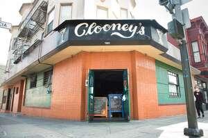 Clooney's Pub, 1401 Valencia St, San Francisco.