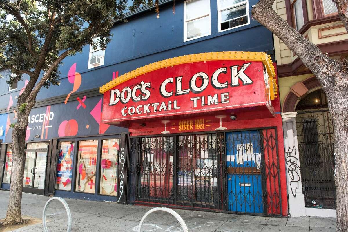 Doc's Clock , 2417 Mission St, San Francisco.