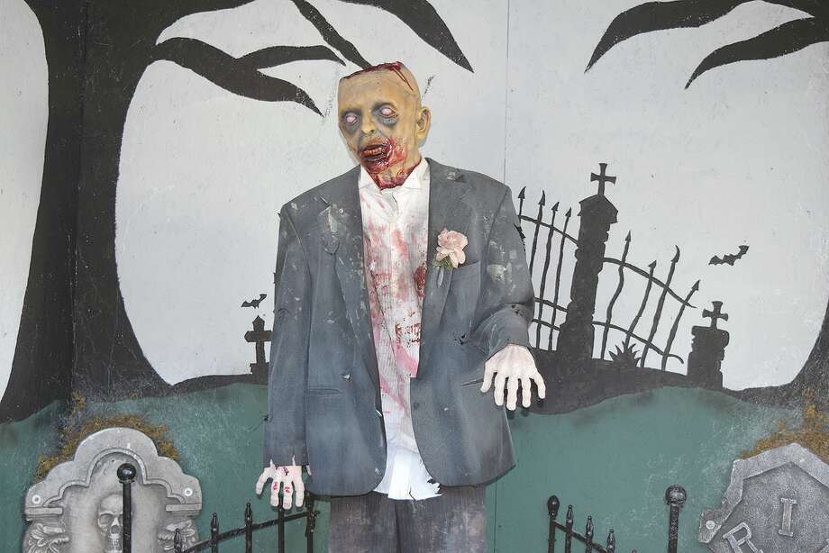 The 217 Terror haunted attraction features a cemetery scene, among others. Photo: Rochelle Eiselt | Journal-Courier