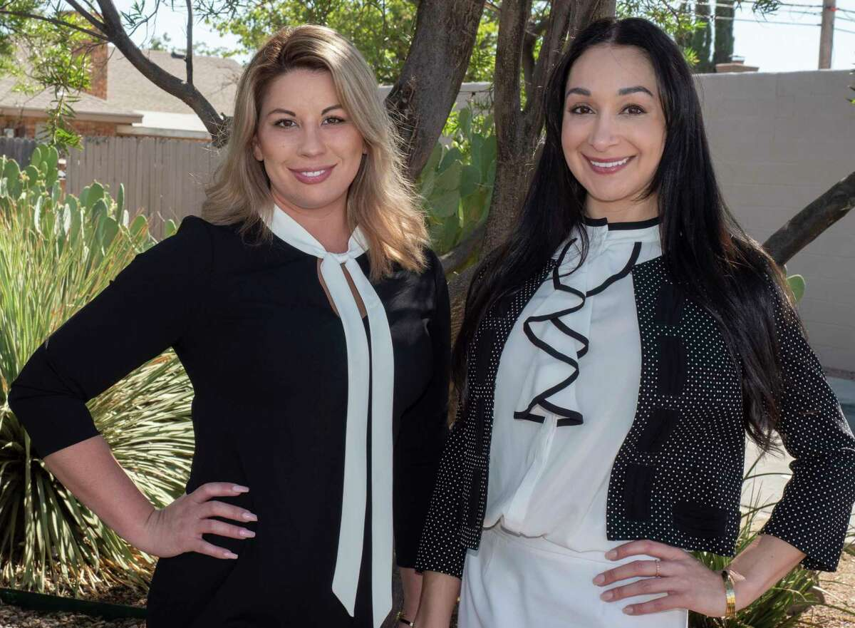 Amanda Scott, left, and Amanda Labrie, started a think tank of women involved in the energy industry.