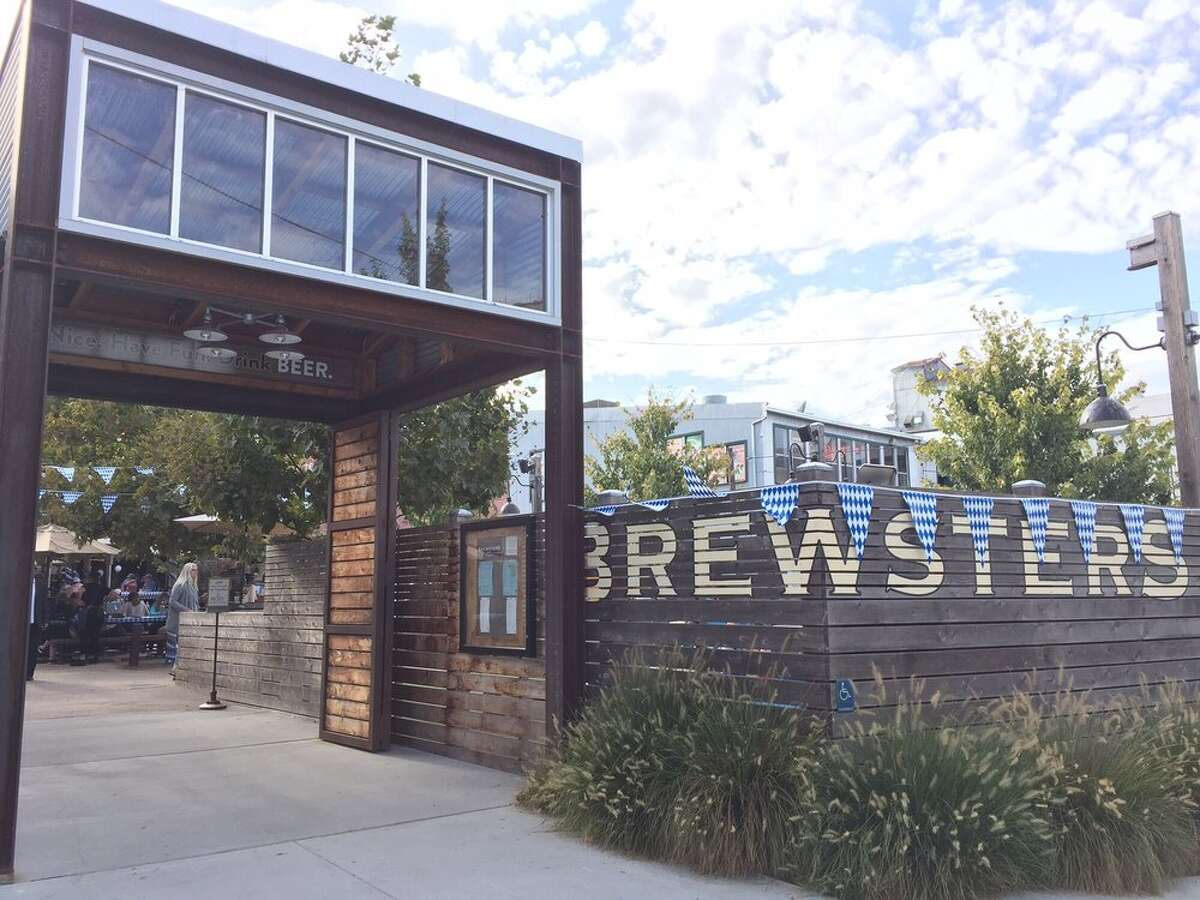 The exterior of Brewsters Beer Garden is seen in this image. Todd Shoberg, the executive chef at Brewsters, was killed in a head-on collision in West Marin on Monday.