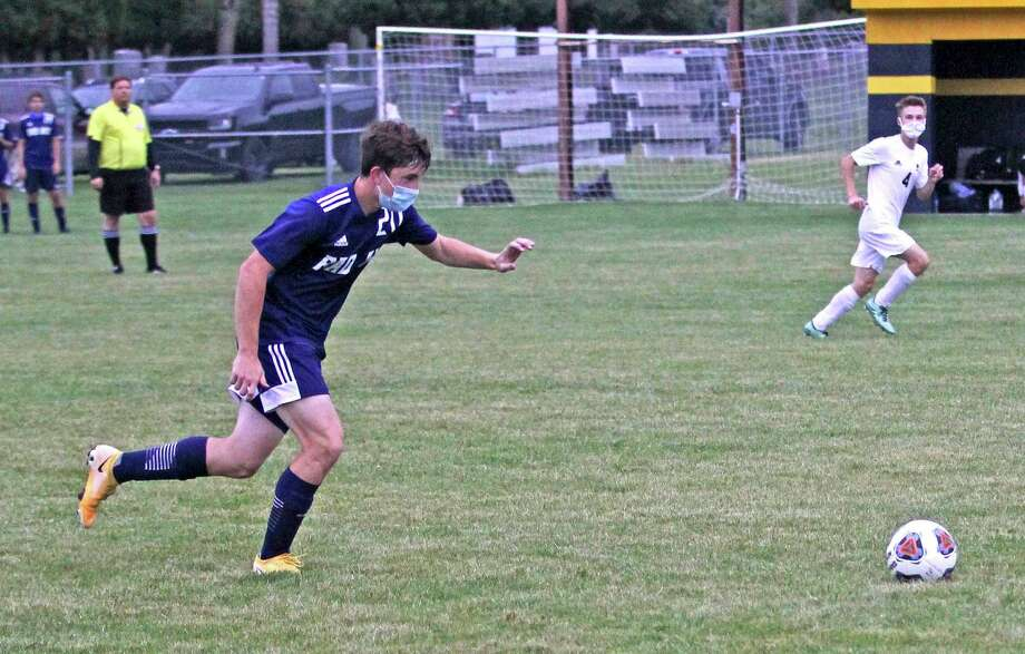 The Bad Axe boys soccer team improved their record to 6-1-1 on Wednesday evening as the they beat the visiting Memphis Yellowjackets. (Mark Birdsall/Huron Daily Tribune)