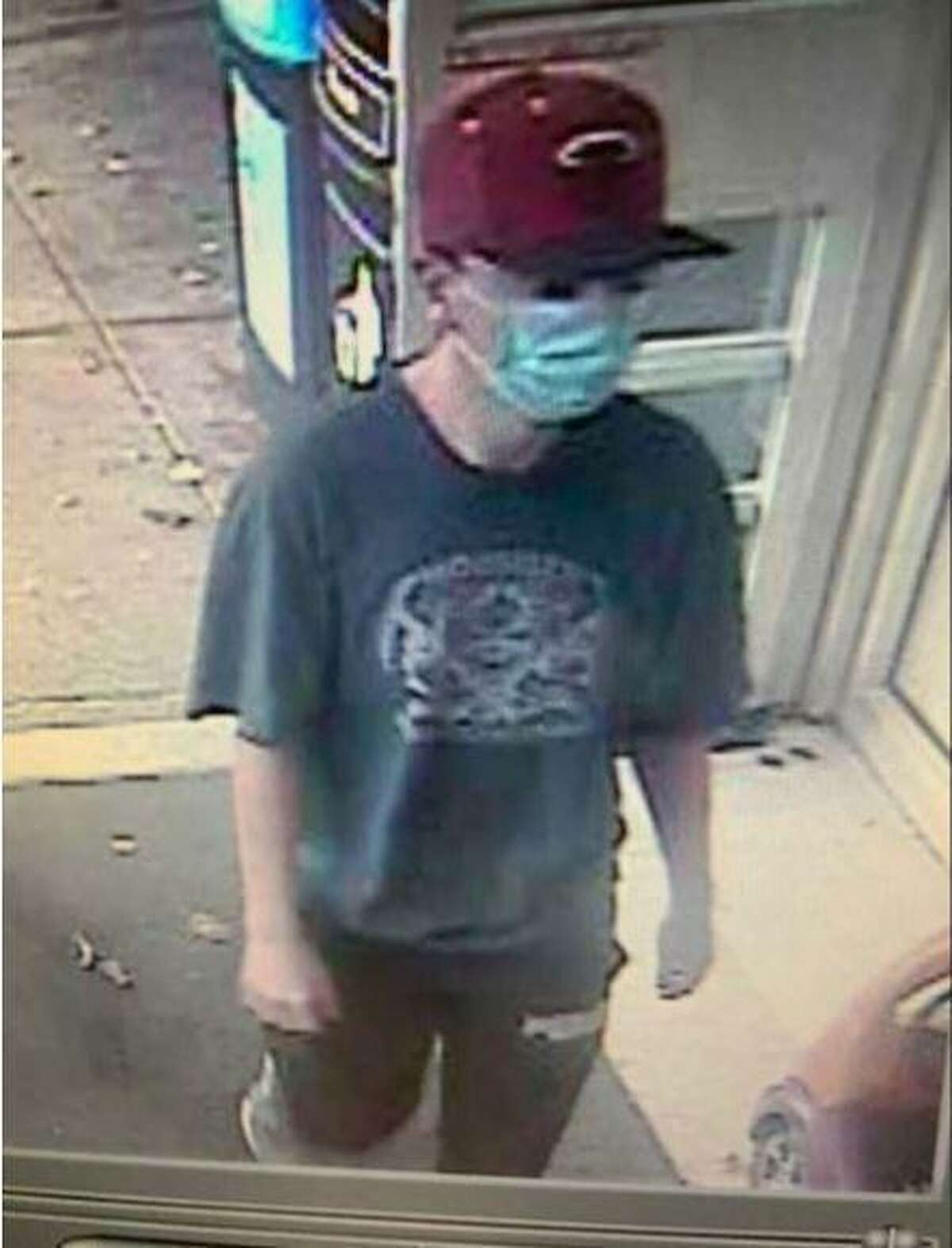 Police are investigating after a man robbed the People's United Bank in the Kings Highway Cutoff Stop & Shop.