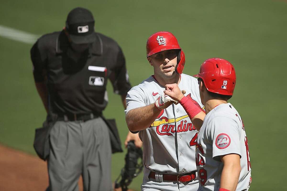 St. Louis' Paul Goldschmidt hit a two-run homer early.