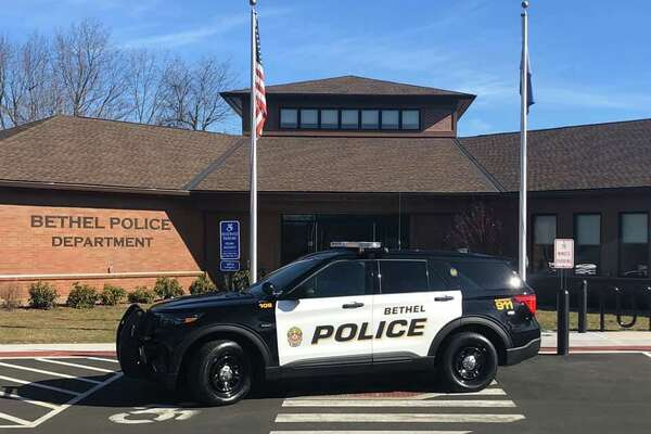 Police headquarters in Bethel, Conn.