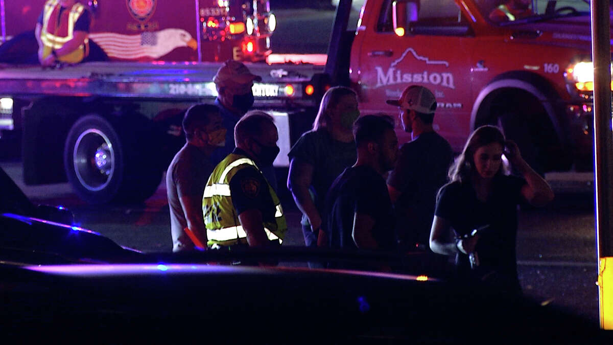 Two separate DWI crashes overnight sent at least four people to the hospital, San Antonio police said.