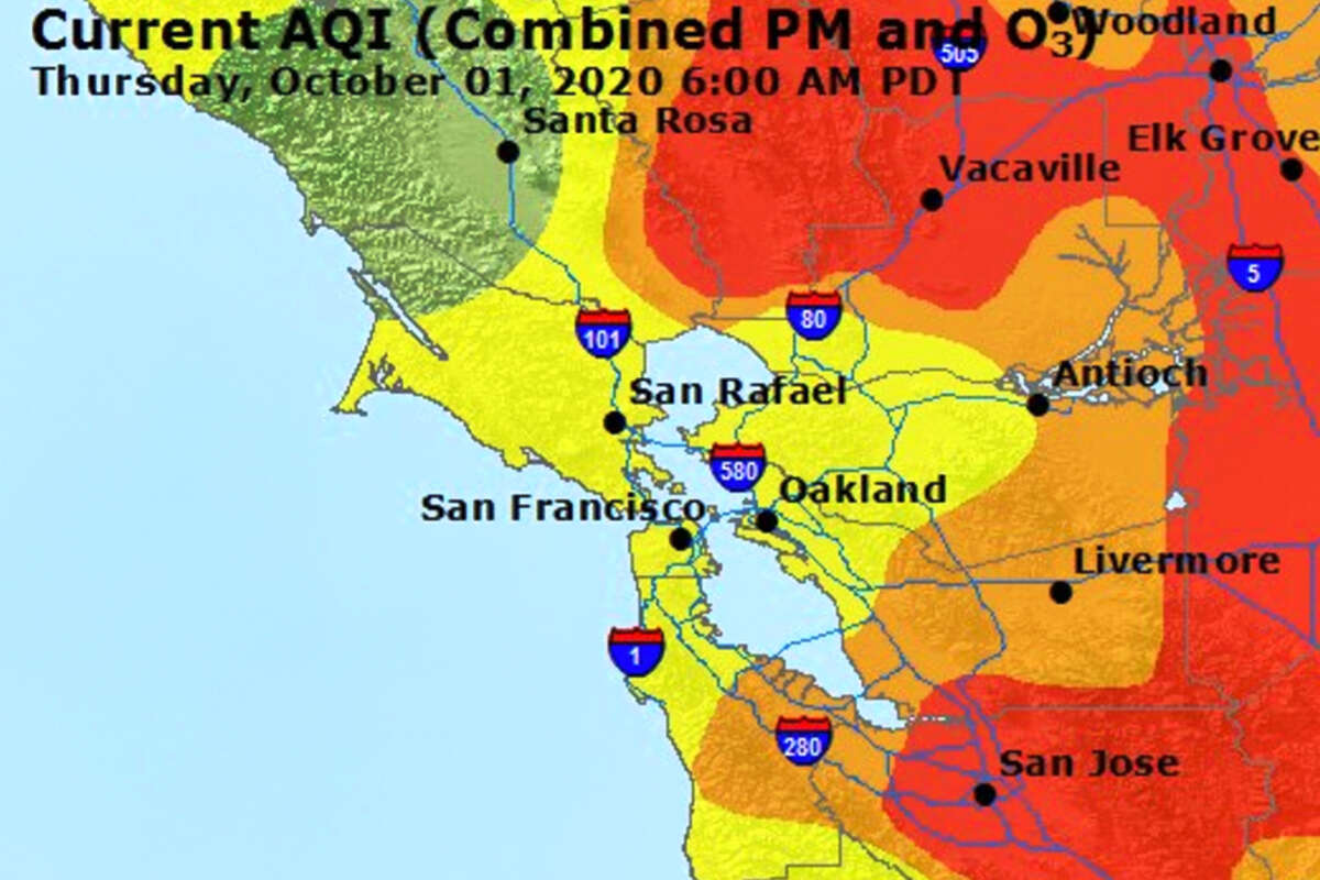 Air Quality Update - Wednesday, September 30, 2020.