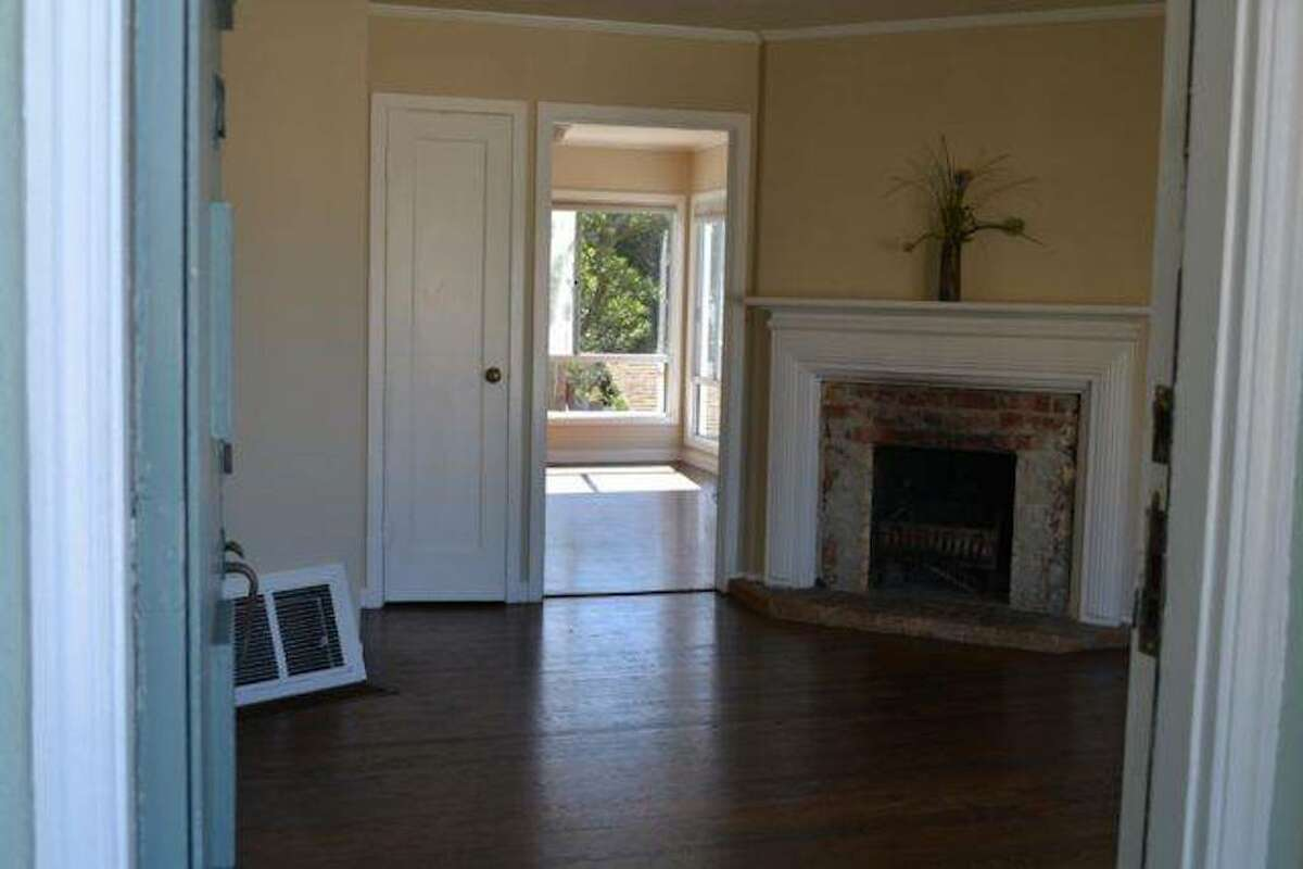 The main floor features two bedrooms and one bathroom.