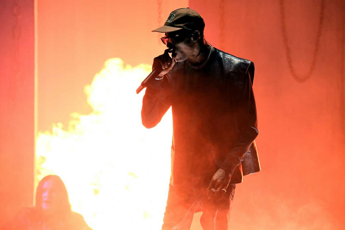 Travis Scott, and other Houston aritsts take home multiple BET Hip-Hop Award nominations. (Photo by Jeff Kravitz/AMA2019/FilmMagic for dcp)