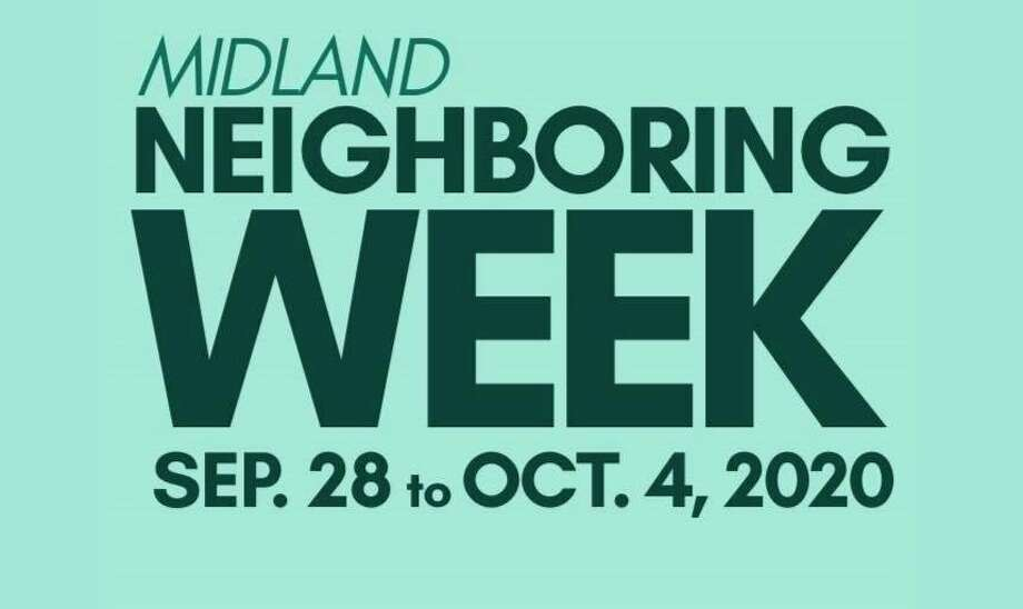 Midland Neighboring Week is Sept. 28 through Oct. 2, 2020. (Cropped Facebook photo/Midland Area Community Foundation)