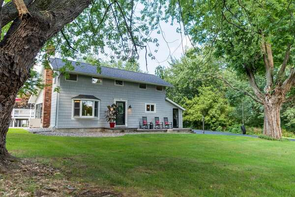 This week's house has three bedrooms and a guest suite above the garage with a fourth bedroom and additional bathroom. The house has 2,670 square feet of living space and sits on a 3.6-acre lot in the North Colonie school district. Contact listing agent Genevieve Suguitan of Signature One Realty at 518-527-9807.