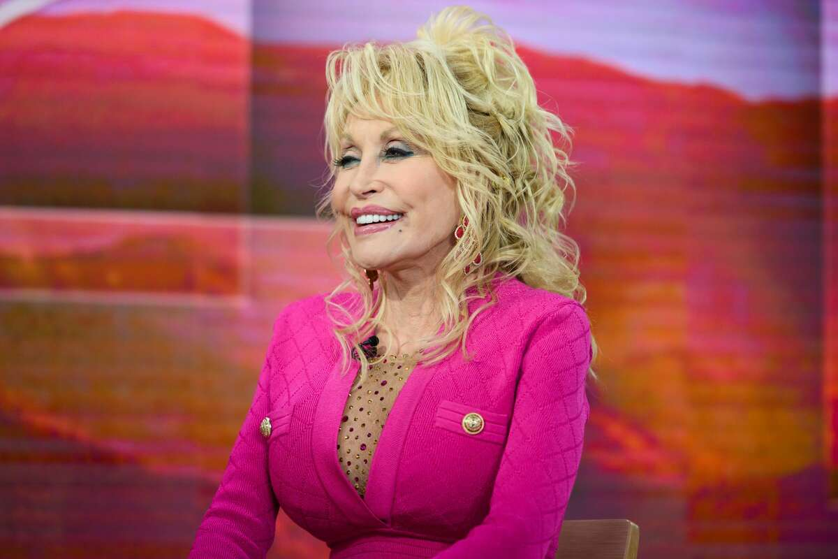 Dolly Parton's non-profit, Imagintation Library is brining books to Houston students.  (Photo by: Nathan Congleton/NBC/NBCU Photo Bank via Getty Images)