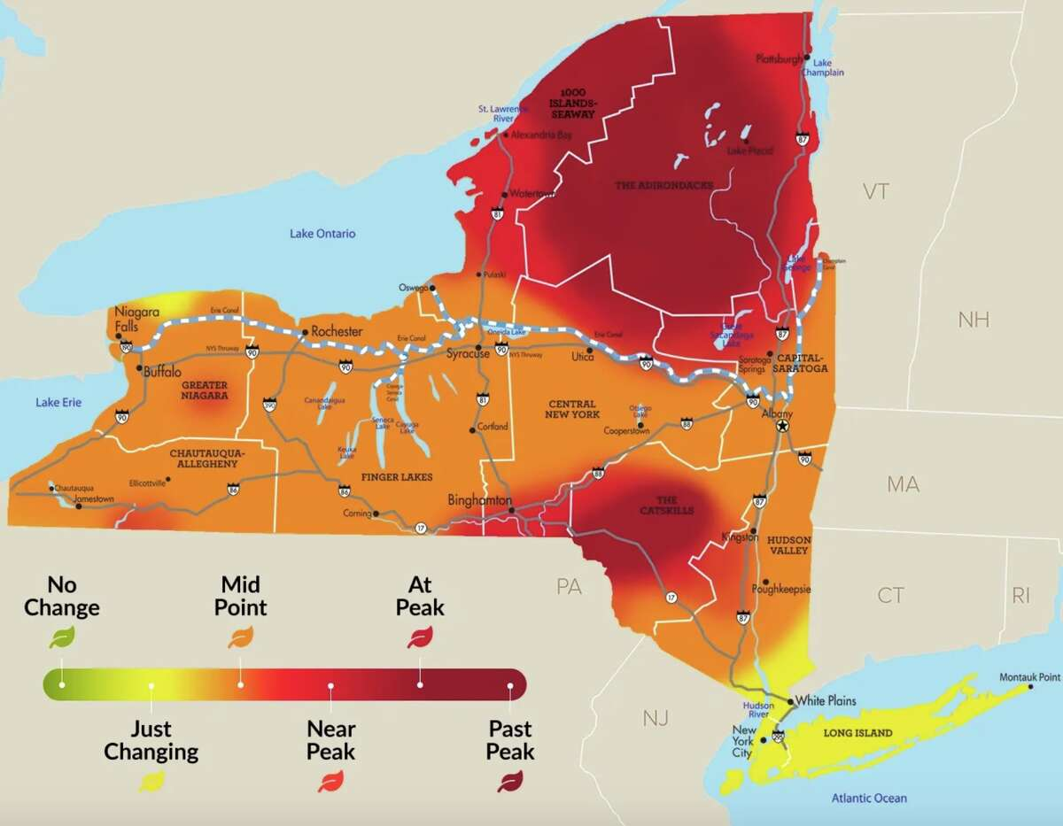 I Love NY Fall Foliage Report for the week of Sept. 30 to Oct. 6 2020.