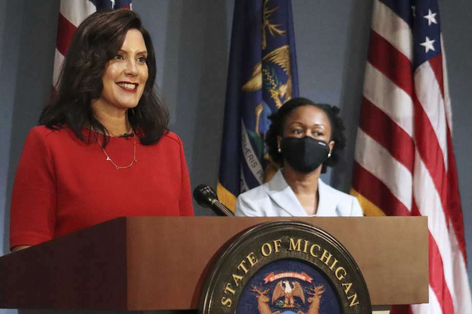 Gov. Gretchen Whitmer, on Thursday, signed additional bills into law following the signing of the 2021 fiscal year budget. Photo: AP File Photo