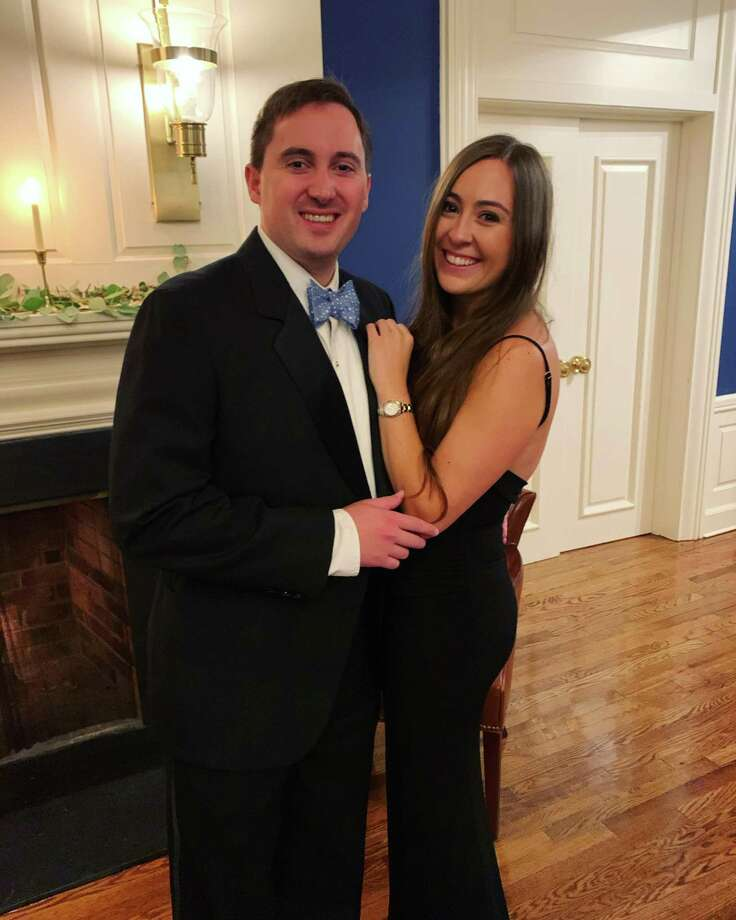 Gregory Wagner and Kelly Cirillo are engaged to be married Oct. 2, 2021, at St. Aloysius Roman Catholic Church in New Canaan. Photo: Contributed