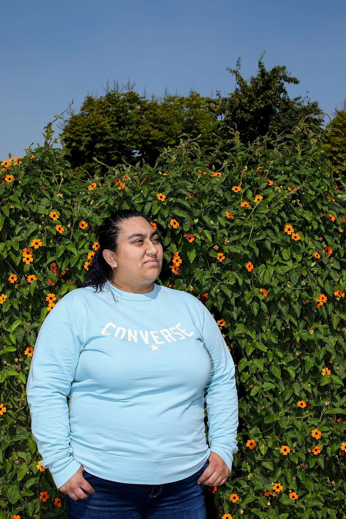 Nallely Camacho is a single mom and member of a hotel workers union that had backed AB3216, which would have given them recall rights for their old positions.