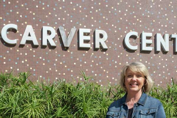 Brenda Duncan, fifth grade science teacher at Carver Center. 10/01/2020. Tim Fischer/Reporter-Telegram