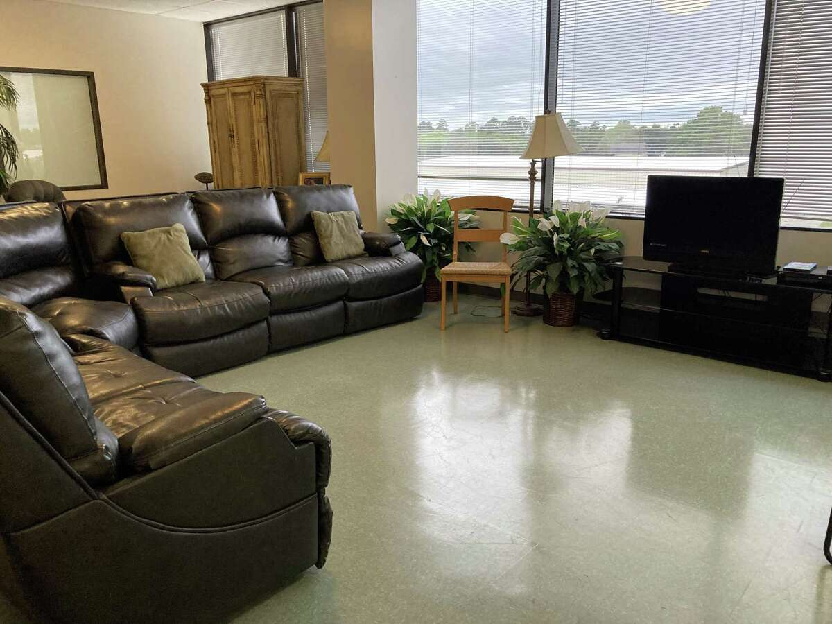 The day center at Northwest Assistance Ministries' Family Violence Center is a space for clients to relax.