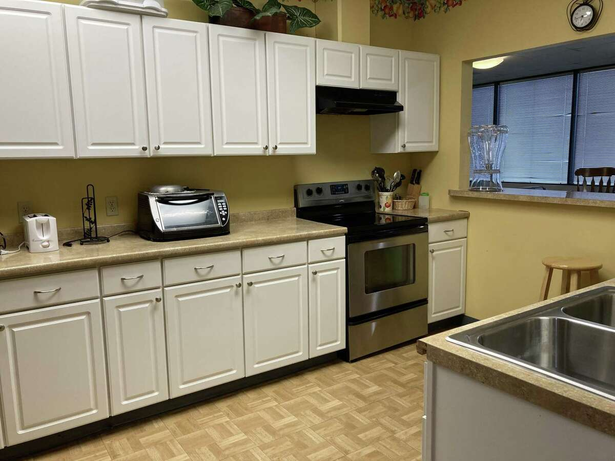 Clients at Northwest Assistance Ministries' Family Violence Center can enjoy snacks in the kitchen area.