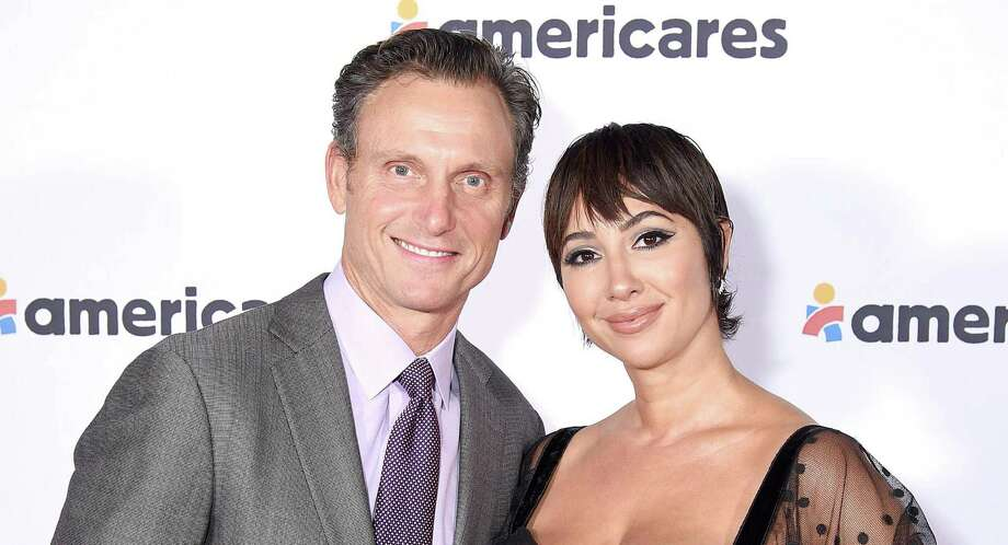 Tony Goldwyn and Jackie Cruz attend the 2019 Americares Airlift Benefit at JPMorgan Chase Hangar at Westchester County Airport on Oct. 05 in White Plains, N.Y. Photo: Bryan Bedder / Getty Images For Americares / 2019 Getty Images