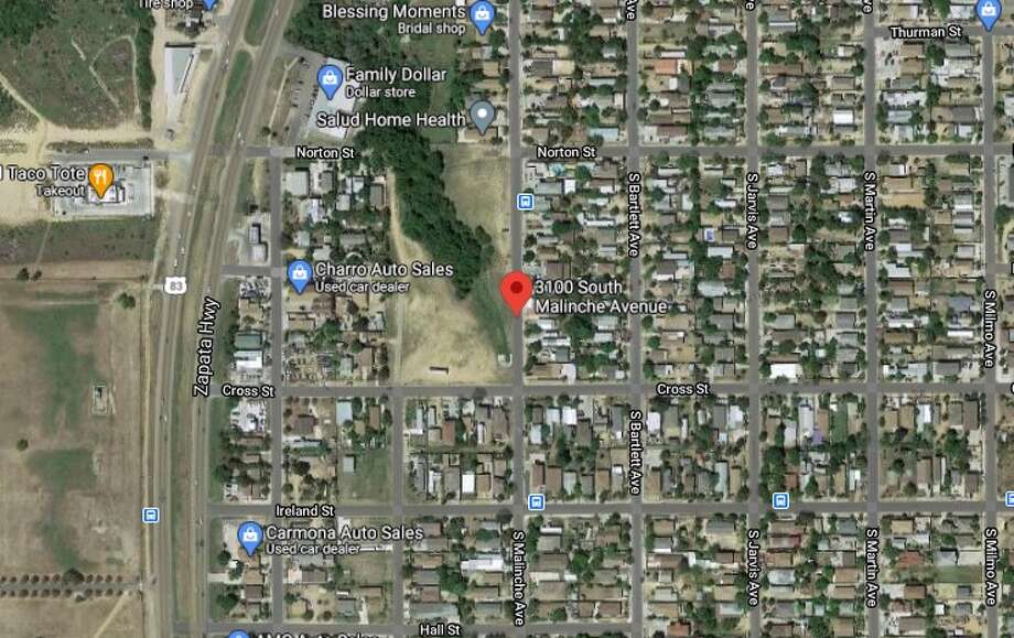 A stabbing was reported on the 3100 block of S. Malinche Avenue on Thursday. Photo: Google Maps