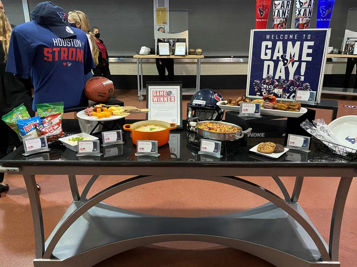 Keep scrolling to see some of the new food being offered in NRG Stadium's suite and club levels ...