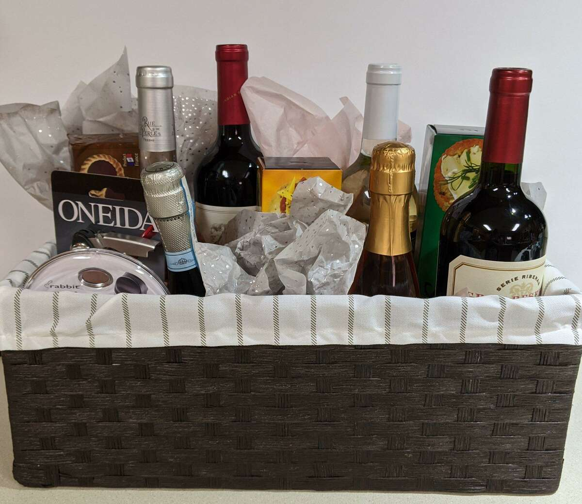 A fine wine basket will be available at Juliane's Compassion For Critters' fourth annual event, an online basket raffle with tickets on sale via the website from Oct. 1st through October 30th and a live Facebook event to draw the winners on Nov. 1st.
