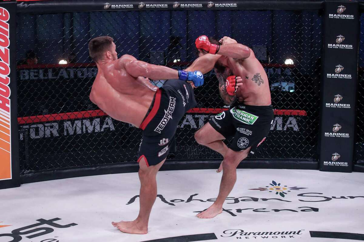 Mohegan Sun has been the setting of Bellator fight action. Arena shows with live fans aren't likely until some time in 2021.