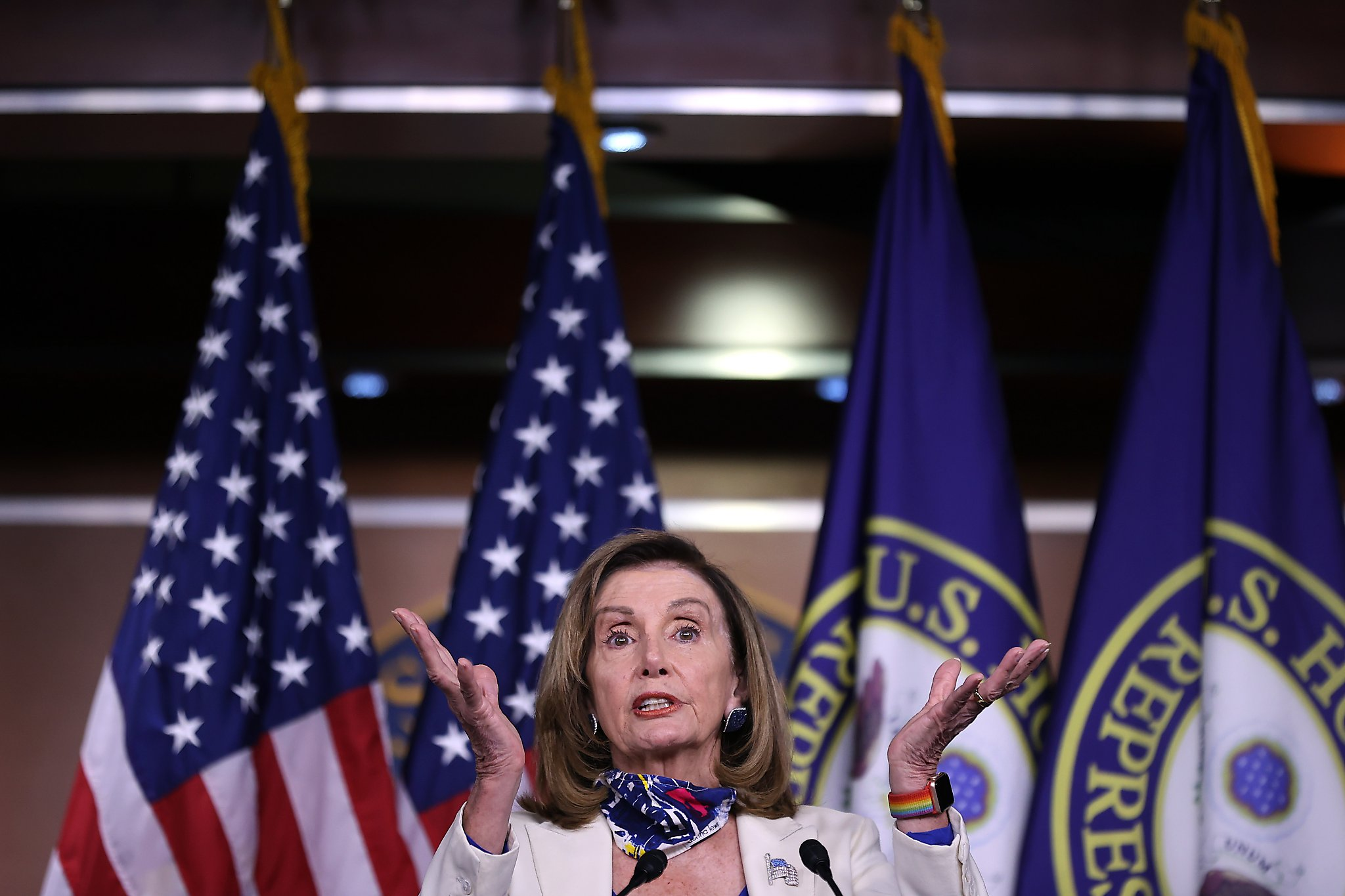 Nancy Pelosi: Trump's positive test could signal 'transition to a saner approach' on coronavirus - SFChronicle.com