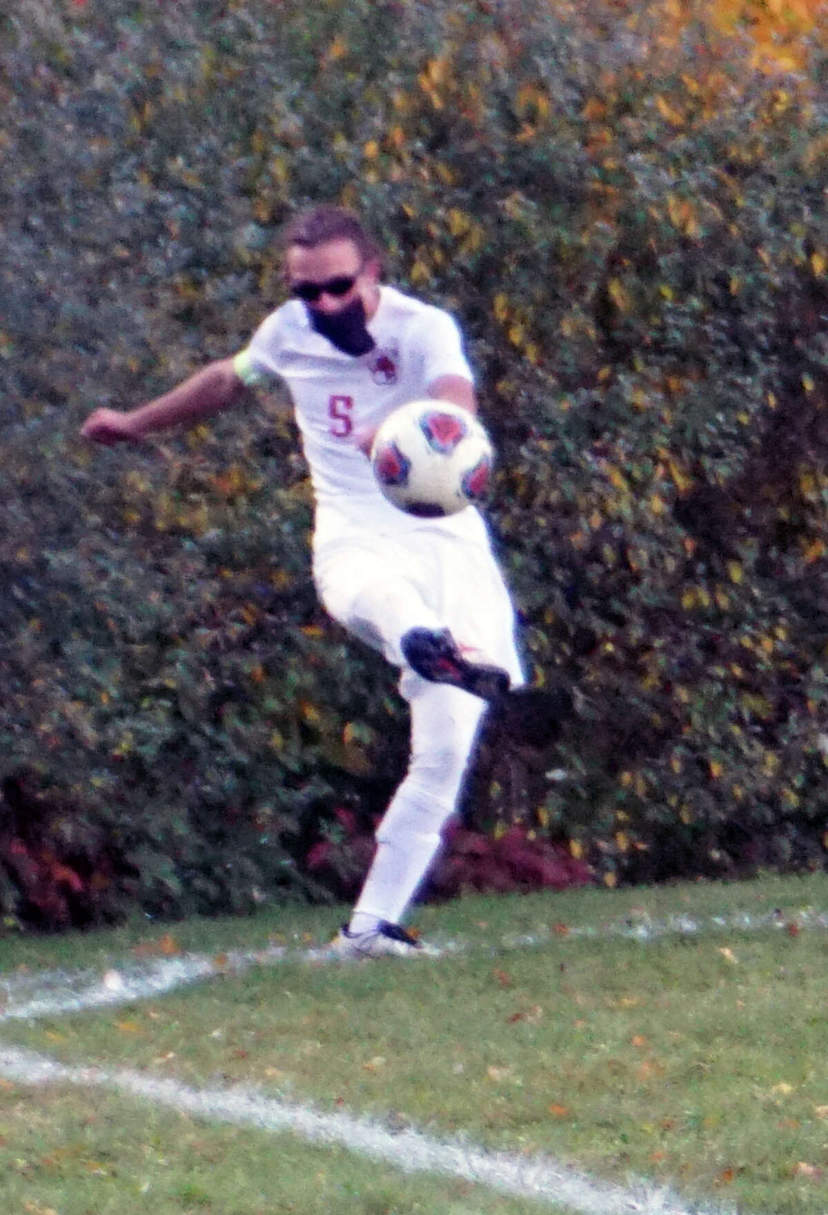 The Big Rapids boys soccer team finished the regular season at home on Thursday night with a 4-0 shutout over the rival Reed City Coyotes.