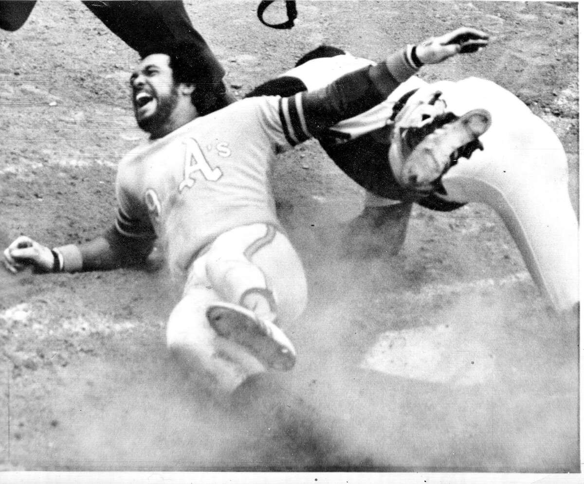 Before the 1972 World Series between the Oakland A's and Cincinnati Reds, the A's Reggie Jackson would be lost to an injury suffered while scoring a key run in the clinching game of the ALCS against the Tigers.