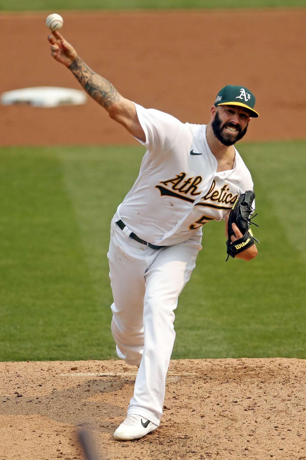 A's starter Mike Fiers could be a factor against the Astros, his former team. Fiers, who hasn't faced the Astros in 2020, helped expose the team's playoff sign-stealing in the offseason.