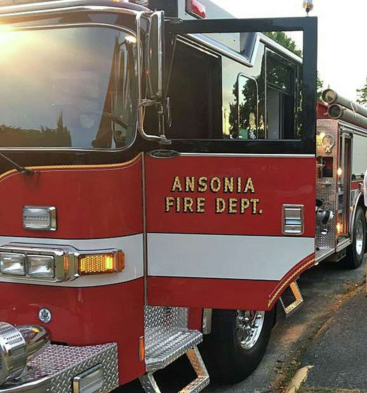 File photo of an Ansonia, Conn., fire engine.