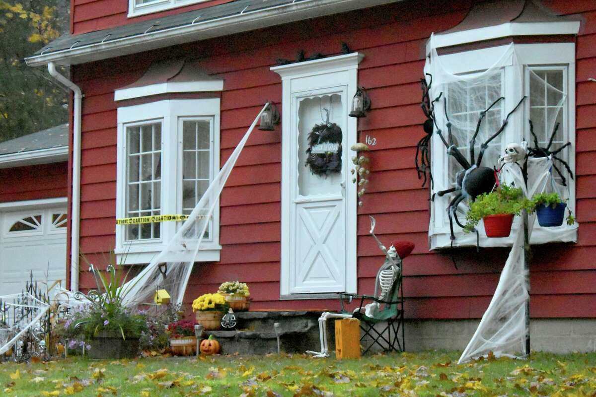 Residents in Winsted and Torrington decorated their homes for Halloween.