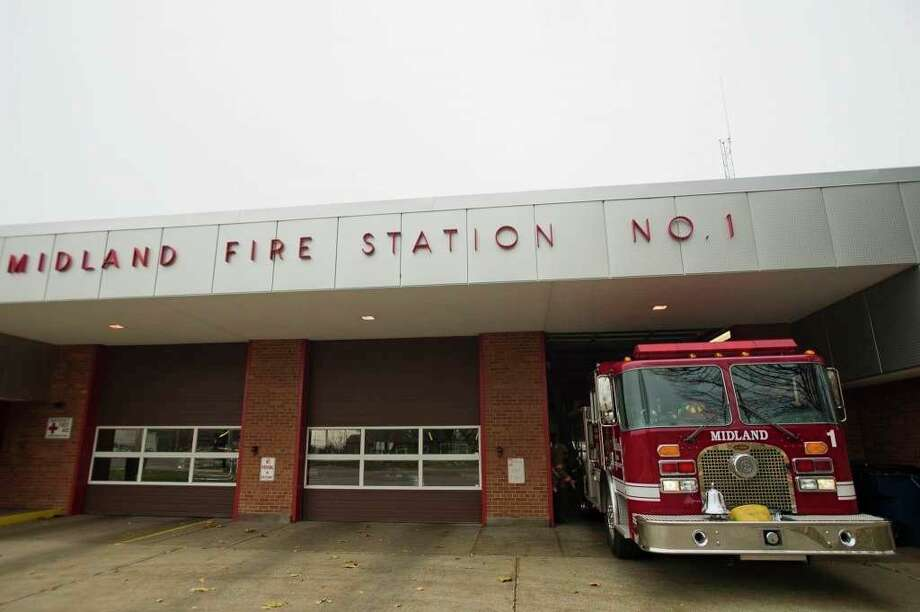 Midland Fire Department Station 1. (file photo)