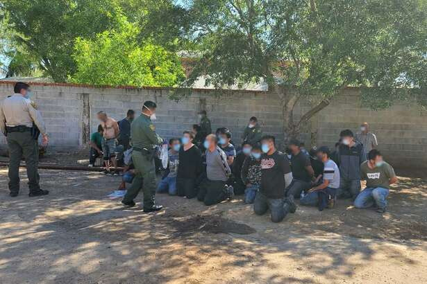 In a joint effort by the U.S. Border Patrol and the Webb County Sheriff's Office, a stash house was shut down Thursday which was housing 39 individuals.
