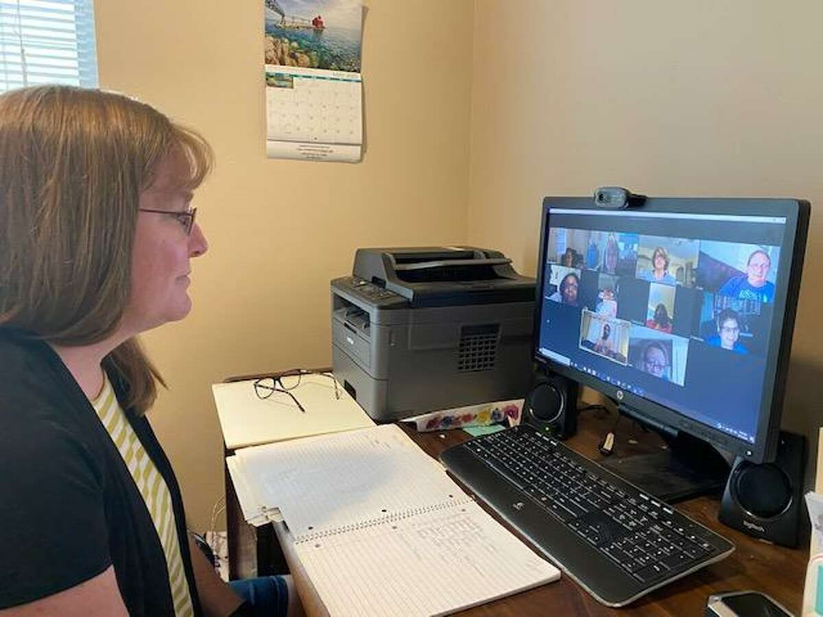 Sarah Hughes is the facilitator of Houston Methodist Willowbrook's breast cancer support group, which holds monthly support group meetings over Zoom for cancer patients and survivors looking for help and advice.