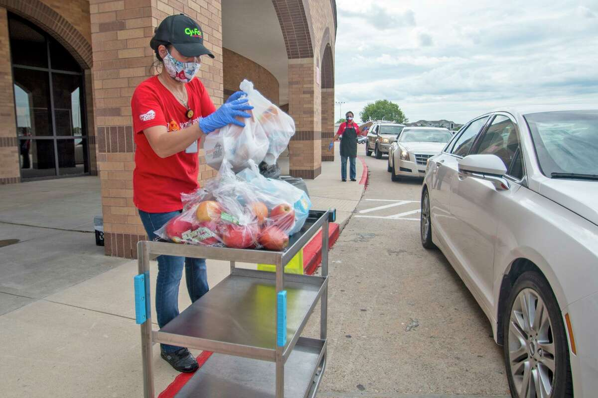 The Cy-Fair ISD nutrition services department began Curbside CONNECT on Sept. 8, 2020, serving free meals to children who aren't on-campus learners.