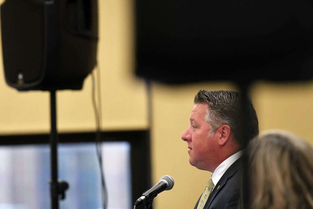 Albany County County Executive Daniel McCoy on June 19 said that a woman in her 50s died from COVID-19 (Times Union file photo)