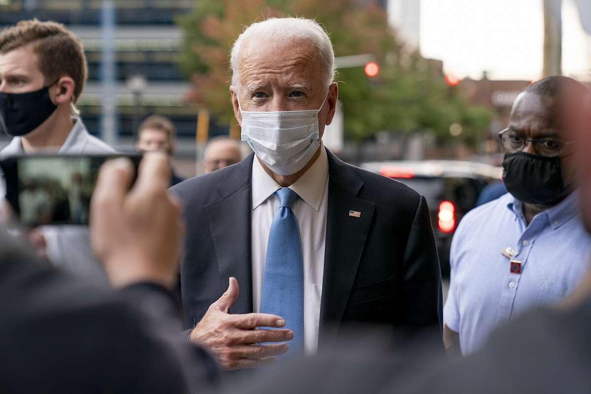 Democratic presidential candidate former Vice President Joe Biden has tested negative for the coronavirus.
