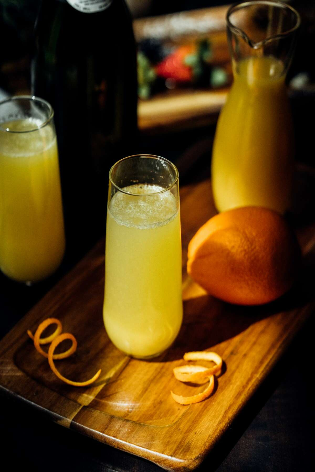 Calling all brunch bunches! The General Public has mimosas for one buck every weekend.