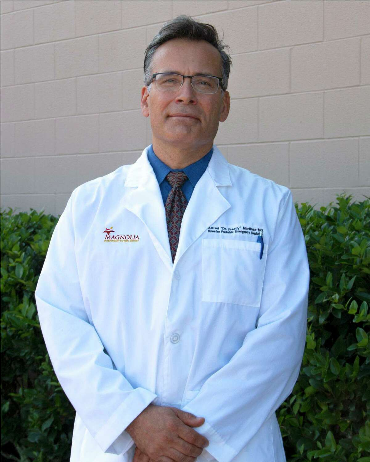 Magnolia ISD has hired Dr. Alfred Martinez - an emergency room pediatric physician - as the school district's Chief Medical Officer.