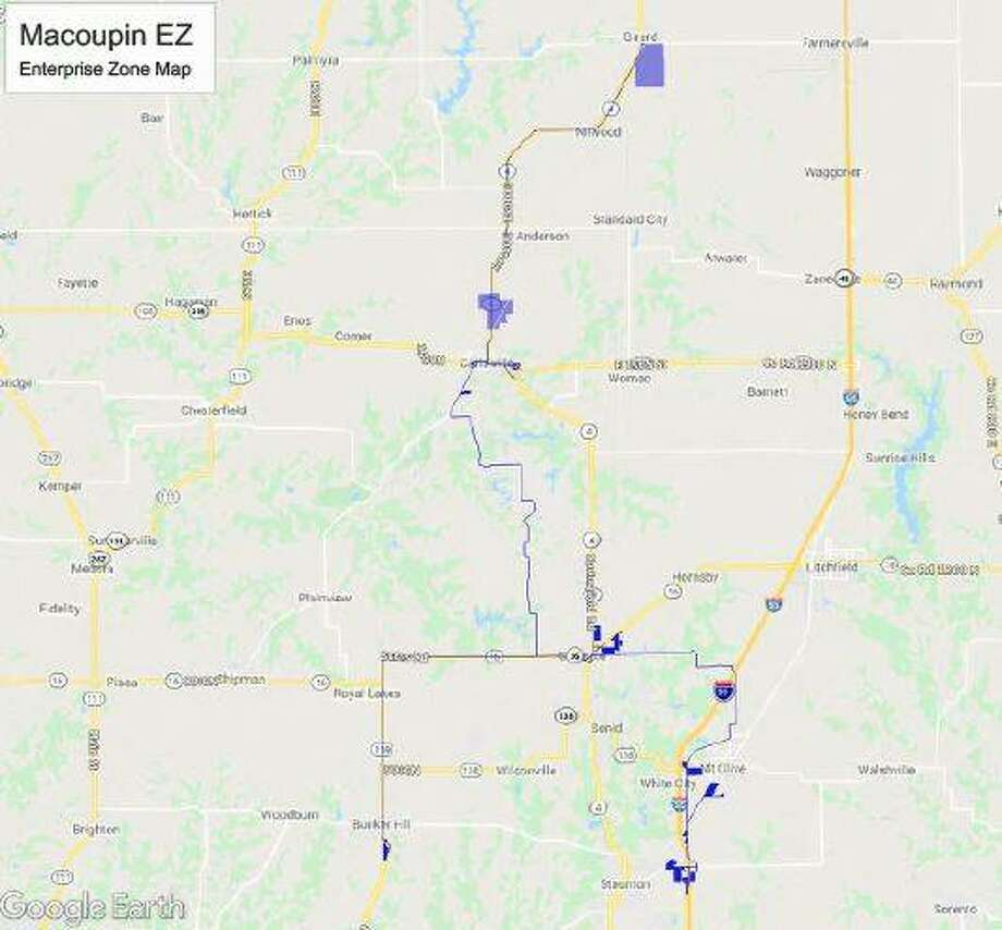 Macoupin County officials are seeing new opportunities for its Enterprise Zone that was recently expanded to include Staunton, Bunker Hill and Royal LAkes. The state designation is designed to attract investment by private companies through incentives such as tax credits, lower state taxes and possible local property tax abatement for up to 10 years.