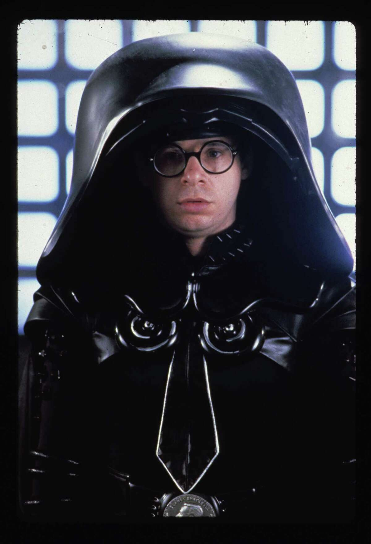 Dark Helmet (Rick Moranis) stars in Spaceballs